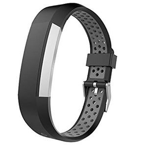 Accessories - For Fitbit Alta/Hr Perforated Silicone Band